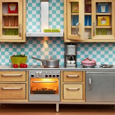 Lundby dollhouse Stockholm kitchen