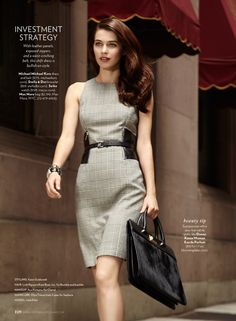 """Chic in the City"" By Jamie Nelson for Shape Magazine"