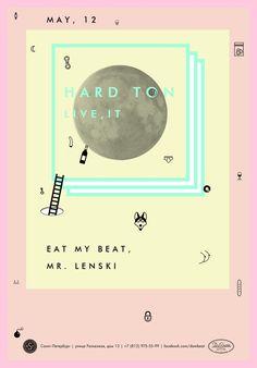 ミュージシャン「EAT MY BEAT MR. LENSKI」のライブチラシ