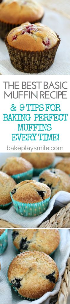 This really is the best basic muffin recipe – tried, tested and loved by everyone! Mix and match with your favourite add-ins for the perfect treat.