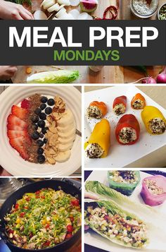 Tasty ideas to inspire your meals for this week. #mealprepmonday #mealprep #monday #beachbody #healthyrecipes