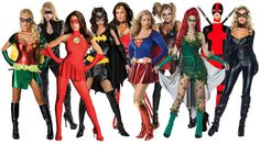 10 Best Sexy Superhero Halloween Costume Ideas for Women  sc 1 st  Pinterest & 10 Best Sexy Funny Halloween Costume Ideas for Women | Halloween ...