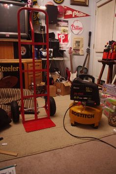 Well since my garage is a mancave/tinkershop, my compressor and hoses are stored at the rear of my property in my shed and it has been cumbersome to make several...