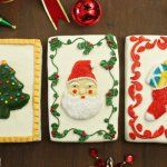 Vintage Christmas Card Cakes