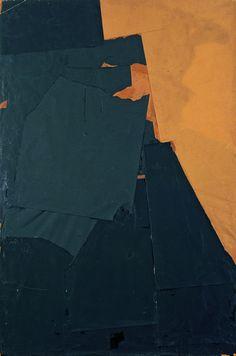 Pierrette Bloch, Sans titre, 1968, Collage sur châssis,150 × 100 cm