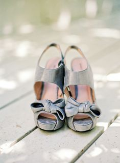 Silver wedding shoes: http://www.stylemepretty.com/2013/02/06/camarillo-california-wedding-from-daniel-kim-photography/ | Photography: Daniel Kim - http://danielkimphoto.com/
