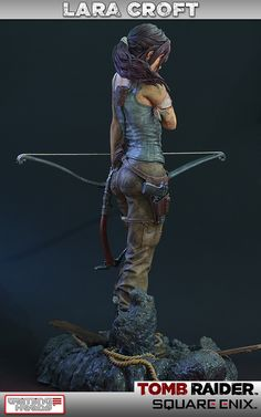 [Gaming Heads] Tomb Raider: Lara Croft Survivor Statue - LANÇADA!!!