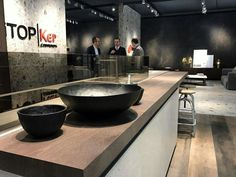 Inalco in LivingKitchen 2017 (Day 2) For the first time we attend the LivingKitchen 2017 Trade Fair in Cologne (Germany), and we are enjoying the visit of many interesting professionals in our stand located in Hall 4.2 C011. We show you today several images of our stand, designed to highlight the design and textures of our porcelain tile collections. LivingKitchen is open until Sunday, Jan. 22nd, you still have time to visit.  #ecocontractfirenze #Inalcotrends