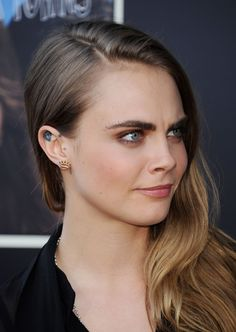 Cara Delevingne at Paper Towns Live Concert at Youtube Space in Los Angeles.