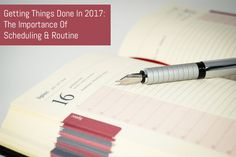 Getting Things Done In 2017: The Importance Of Scheduling & Routine :  In the final part of my Getting Things Done on 2017 series we take a look at how scheduling tasks on a daily basis can make you more productive and is surprisingly flexible. :  https://www.flippingheck.com/getting-things-done-in-2017-the-importance-of-scheduling-routine