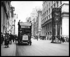 NYC. Vintage scene at W 34th Street