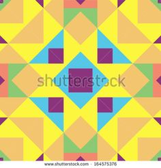 colorful square patterns - Google Search