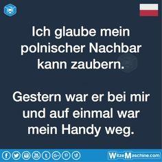 Polenwitze - Polnischer Zauberer