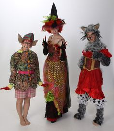 Cobbler's Elf, Wicked Witch, Big Bad Wolf Costumes - Shrek Rental from $39-75 per costume