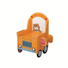 The School Bus Potty Chair for Girls or Boys Toddler Furniture, Baby Furniture, Kids Potty, Baby Potty, Baby Shower Gifts, Baby Gifts, Potty Chair, Baby Milestones, Toys R Us
