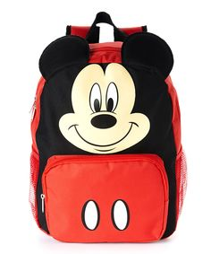 Love this Mickey Mouse Big Face Backpack by Mickey Mouse & Minnie Mouse on #zulily! #zulilyfinds