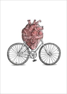 Keeping the heart healthy on two wheels!