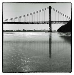George Washington Bridge -suspension bridge spanning the Hudson River, connecting the Washington Heights neighborhood in the borough of Manhattan in New York City to Fort Lee, New Jersey.