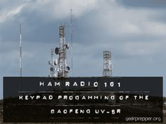 If you want to do more than simplex communications, then you'll likely need to use a repeater. We'll show you Keypad Programming the BaoFeng UV-5R.