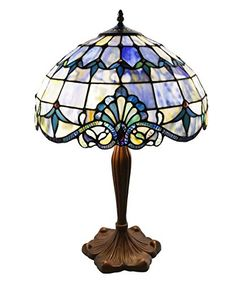 Vintage Tiffany Style Table Lamp Stained Glass Lighted Base Accent Lighting  | EBay | Lamps | Pinterest | Lamps, EBay And Tables