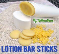 How to Make Lotion Bar Sticks