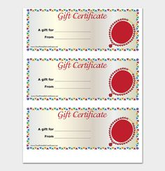 Printable Gift Vouchers Template 44 Free Printable Gift Certificate Templates For Word & Pdf .