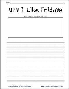 3rd grade creative writing