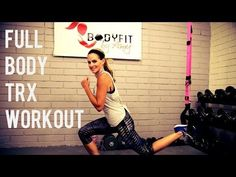 30 minute Full Body TRX Workout Core Strong - YouTube