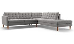 Eliot Sectional with Bumper (2 piece)