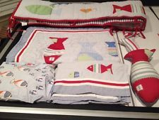 Fish Theme Crib Bedding