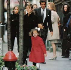 Pin by knl on the kennedys pinterest john kennedy and kennedy jr with sister caroline kennedy schlossberg and niece rose schlossberg walking around nyc altavistaventures Choice Image