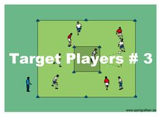 http://www.top-soccer-drills.com/target-players--3.html #SoccerPassingDrillsU12 #Soccer #Passing #Drills #U12