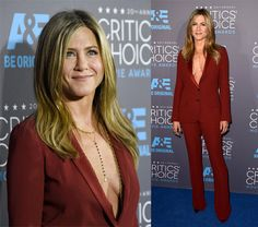 #CriticsChoiceAwards Jennifer Aniston In Gucci