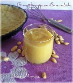 Crema frangipane alle mandorle ricetta per dolci dolce Status Mamma Giallozafferano torta crostata biscotti BlogGz foto tutorial