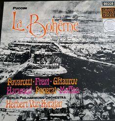 PUCCINI La Bohème, Decca Orchestra, Grand Prix, Berlin, Movies, Movie Posters, Pictures, Films, Film Poster, Cinema