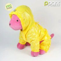 Dog Pocket Raincoat - Yellow - 6L