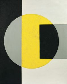 charles green shaw | Charles Green Shaw - Black into yellow, 1970 | Posters / Illustration ...