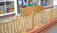 playground fencing ideas - Google Search