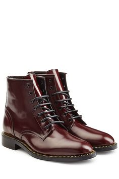 DSQUARED2 - Leather Ankle Boots | STYLEBOP.com