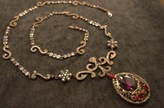 Ottoman Style Autentic Silver Necklace Jewelry .. by OrangeJewelry, $304.00