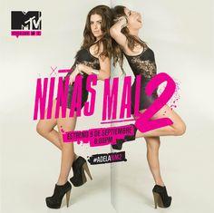 """¡Vuelven las 'Niñas mal' a MTV! Descarriadas, impulsivas y encantadoras, te esperan en el estreno de """"Niñas Mal 2"""" a las 20hs por MTV. ¿Te lo vas a perder?"""