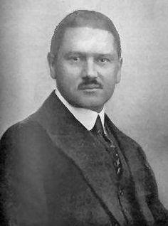 Michel Buy oprichter van de Nyma omstreeks 1925