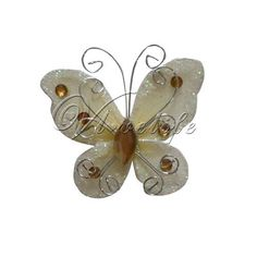 20 Butterflies £2.49  http://www.ebay.co.uk/itm/5m-x-29cm-Sheer-Organza-Roll-Wedding-Chair-Sash-Bow-Table-Runner-Swag-Decoration-/271039647755?pt=UK_Home_Garden_Celebrations_Occasions_ET&var=&hash=item3f1b38d00b