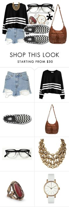 """""""590"""" by laurie-hooope ❤ liked on Polyvore featuring Topshop, Vans, Wet Seal and Void"""