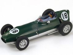 Lotus 16 (Alan Stacey - British GP 1958) Resin Model Car by Spark S1838 This Lotus 16 (Alan Stacey - British GP 1958) Resin Model Car is Green and features working wheels. It is made by Spark and is 1:43 scale (approx. 9cm / 3.5in long).