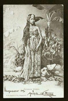 - Mujer de Java .1898 ./tcc/