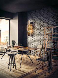 #Brickwalls in je #interieur  #bakstenen #muur #robuust #industrieel #design #artistiek