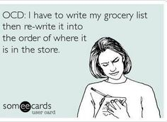Yes I do this but I write it in the order of the store once. Doesn't everyone who goes with two toddlers do this?!