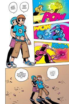 Scott Pilgrim Vol. 3 (of Scott Pilgrim and the Infinite Sadness Comic Book Heroes, Comic Books Art, Scott Pilgrim Comic, Bryan Lee O Malley, Character Art, Character Design, Ramona Flowers, Vs The World, Image Comics