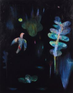 becky blair * artist - paintings: darkness all around